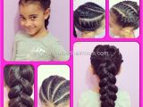 Braided Hairstyles for Mixed Hair Center Stage Braiding is Art