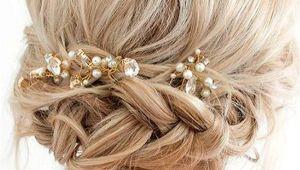 Braided Hairstyles for Short Hair Wedding 33 Amazing Prom Hairstyles for Short Hair 2019 Hair