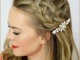 Braided Hairstyles for Shoulder Length Hair Easy Braided Hairstyle Ideas for Medium Length Hair Elle