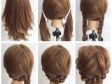 Braided Hairstyles for Shoulder Length Hair Fashionable Braid Hairstyle for Shoulder Length Hair