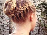 Braids with Buns Hairstyle 15 Braided Bun Updos Ideas Popular Haircuts