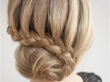 Braids with Buns Hairstyle 30 Buns In 30 Days Day 7 Lace Braided Bun Hair Romance