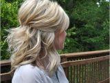 Bridesmaid Hairstyles Half Up Medium Length 35 Pretty Half Updo Wedding Hairstyles My Style In 2019