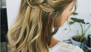 Bridesmaid Hairstyles Long Down 32 Pretty Half Up Half Down Hairstyles – Partial Updo Wedding