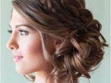 Bridesmaid Hairstyles Side Curls Double Braids Hair Pinterest
