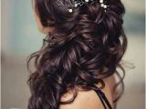 Bridesmaid Hairstyles Side Curls Pretty Wedding Hairstyles for Long Hair