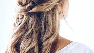 Bridesmaids Hairstyles Down 2019 Plaited Bridal Hair Half Up Half Down Weddinghairstyles