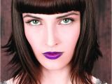 C Cut Hairstyle with Bangs Beverly C Medium Brown Hairstyles Uk Hairdressers