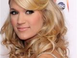 Carrie Underwood Wedding Hairstyle 20 Beautiful Half Up Curly Hairstyles Every Lady Should