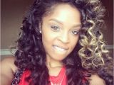 Center Part Curly Weave Hairstyles Loving the Blacks and Whites and the Simple Layered