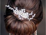 Chignon Hairstyles for Weddings Low Bun Wedding Hairstyles Wedding Chignon