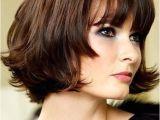 Chin Length Blunt Cut Hairstyles Cute Chin Length Hairstyles for Short Hair Bob with Blunt Bangs