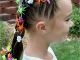 Crazy but Easy Hairstyles Princess Piggies Halloween Hairdos Spider Rings