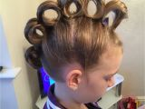 Crazy Hairstyles that are Easy to Do Rolling Mohawk for Crazy Hair Day Hair