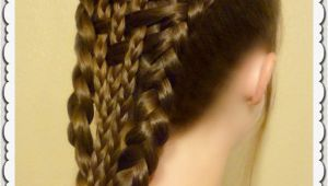 Curls Hairstyle On Lehenga Cute Easy Hairstyles for Curly Hair Easy Do It Yourself Hairstyles