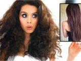 Curls Hairstyles for Medium Length Hair without Heat Straight Hair without Heat Curly Hair Tutorial