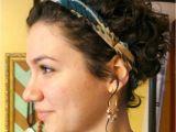 Curly Hair Headband Hairstyles Headband Hairstyles for Short Hair Beautiful Enchantinga Parents Od