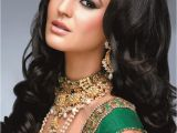 Curly Hairstyles for Indian Women 8 Superb Expressions Of Indian Party Hairstyles