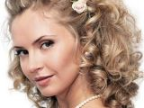 Curly Hairstyles for Medium Length Hair for Weddings Medium Length Wedding Hairstyles Wedding Hairstyle