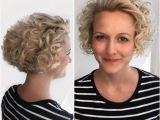 Curly Hairstyles Pulled Back 42 Curly Bob Hairstyles that Rock In 2019