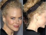 Curly Hairstyles Pulled Back Nicole Kidman Hair