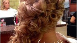 Curly Hairstyles to the Side for Prom 206 Best Side Swept Romantic Updos Images