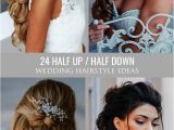 Curly Hairstyles with Hair Clips 24 Stunning Half Up Half Down Wedding Hairstyles these Elegant Curly