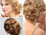 Curly Loose Bun Hairstyles Best Updo Hairstyles Modish Messy for Short Hairs