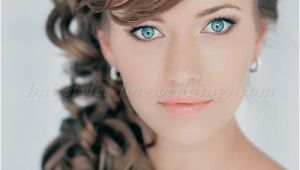 Curly Side Hairstyles for Wedding Wedding Side Hairstyles for Long Hair