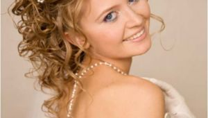 Curly Wedding Updo Hairstyles Medium Hairstyles for Curly Hair