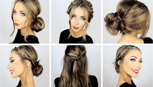 Cute and Easy Hairstyles for Work 5 Quick and Easy Back to Work Hairstyles the Hairstyles