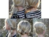 Cute and Super Easy Hairstyles Super Easy Quick Tutorial for these 5 Amazingly Cute Hair