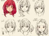 Cute Anime Girl Hairstyles My Style Doodles Ridley S Bloggie
