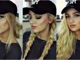 Cute Baseball Hat Hairstyles Cute Baseball Hat Hairstyles