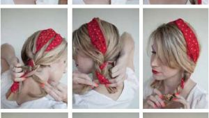 Cute Camping Hairstyles 16 Beautiful Hairstyles with Scarf and Bandanna Pretty