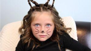 Cute Cat Hairstyles Braided Kitty Cat Ears Halloween Hairstyles