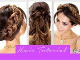 Cute Easy Fancy Hairstyles Easy Braid Hairstyles 2 Minute Fancy Pony Braid