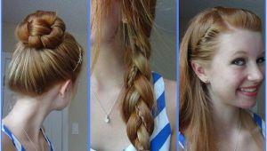 Cute Easy Fast Hairstyles for School so Quick Easy Cute Hairstyles for School Girls New