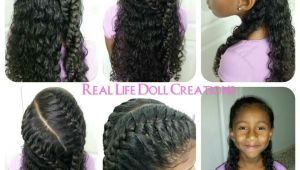 Cute Easy Hairstyles for Mixed Hair Real Life Doll Creations Hair for Little Girls Little