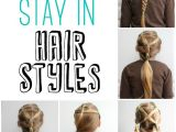 Cute Easy Hairstyles for School Days 5 Minute School Day Hair Styles Fynes Designs