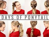 Cute Easy Hairstyles for School Days 7 Days Of Ponytails