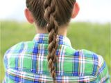Cute Easy Hairstyles for Sports How to Create A Chain Link Braid