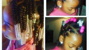 Cute Easy Little Black Girl Hairstyles Simple Hair Styles for Little Black Girls Braids Beads and