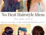 Cute Easy No Heat Hairstyles Cute Hairstyles No Heat Hairstyles by Unixcode