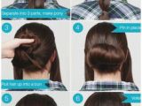 Cute Everyday Hairstyles Tutorials Easy Cute Bun Hairstyles for Medium Hair