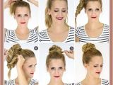 Cute Fast Hairstyles for Thick Hair Cute Quick Updos for Shoulder Length Hair