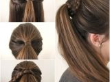 Cute Fast Ponytail Hairstyles Quick Cute Ponytail Hairstyles