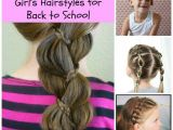 Cute First Day Of School Hairstyles Cute Back to School Hairstyles