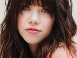 Cute Front Bangs Hairstyles 100 Cute Inspiration Hairstyles with Bangs for Long Round