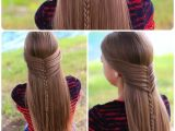 Cute Girls Hairstyles Mermaid Braid Mermaid Half Braid Hairstyles for Long Hair